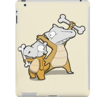 Number 104 and 105 iPad Case/Skin