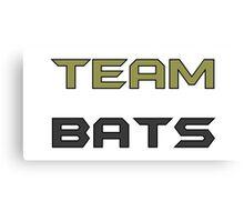 Team Bats Canvas Print