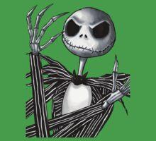 Jack Skellington One Piece - Short Sleeve