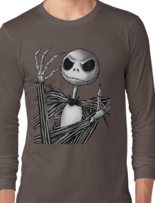 Jack Skellington Long Sleeve T-Shirt