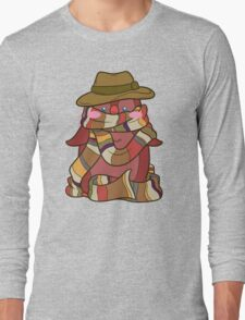 Fourth Doctor Penguin - Doctor Who Long Sleeve T-Shirt