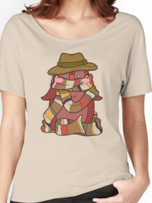 Fourth Doctor Penguin - Doctor Who Women's Relaxed Fit T-Shirt