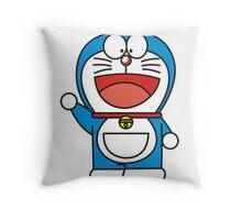 doraemon cartoon Throw Pillow