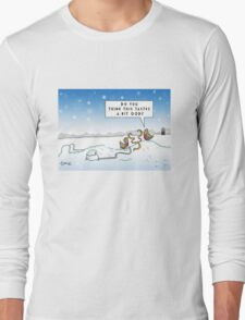 An Ood in Winter Long Sleeve T-Shirt
