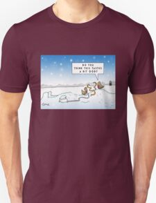 An Ood in Winter Unisex T-Shirt