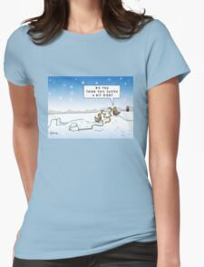 An Ood in Winter Womens Fitted T-Shirt