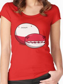 Number 100 and 101 Women's Fitted Scoop T-Shirt