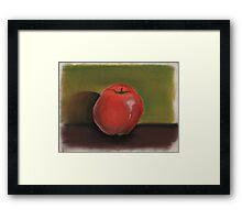 Apple Pastel Framed Print