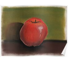 Apple Pastel Poster