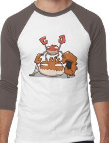 Number 98 and 99 Men's Baseball ¾ T-Shirt