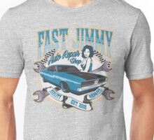 FAST JIMMY AUTO REPAIR SHOP Unisex T-Shirt