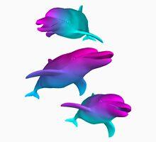 Dolphin Vaporwave Aesthetics Unisex T-Shirt