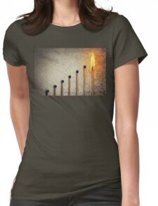 match stairsteps Womens Fitted T-Shirt