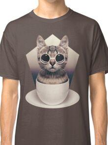 Caffeinimals: Cat Classic T-Shirt