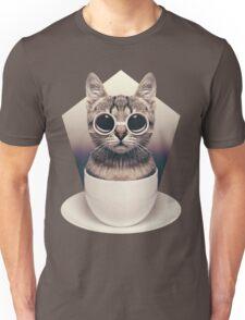 Caffeinimals: Cat Unisex T-Shirt