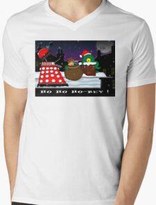 Ho ho ho-bey! Mens V-Neck T-Shirt