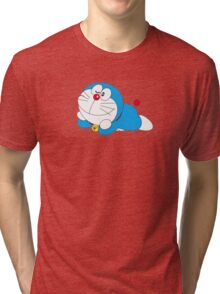 doraemon cartoon Tri-blend T-Shirt