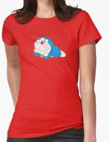 doraemon cartoon Womens Fitted T-Shirt