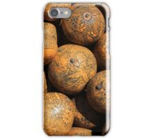 Carved Gourds iPhone Case/Skin