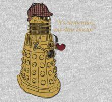 Sherlock Dalek  One Piece - Long Sleeve