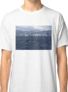 Whale Watching in Honolulu, Hawaii Classic T-Shirt