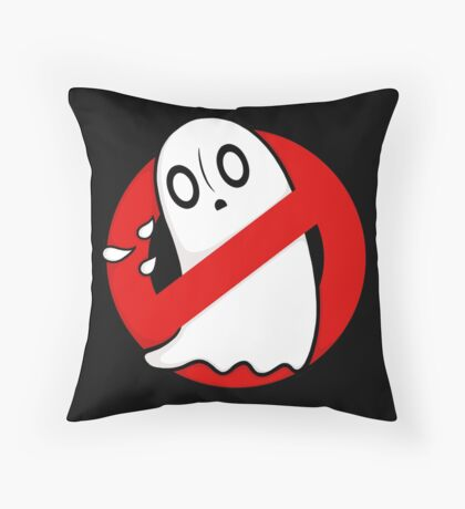 Ghostblookers Throw Pillow