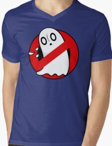 Ghostblookers Mens V-Neck T-Shirt
