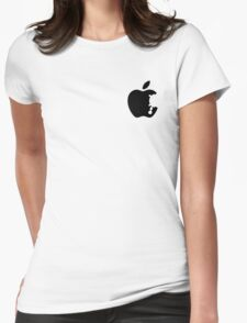 Dalek Apple White  Womens Fitted T-Shirt