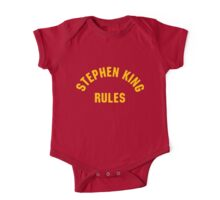 Stephen King Rules One Piece - Short Sleeve