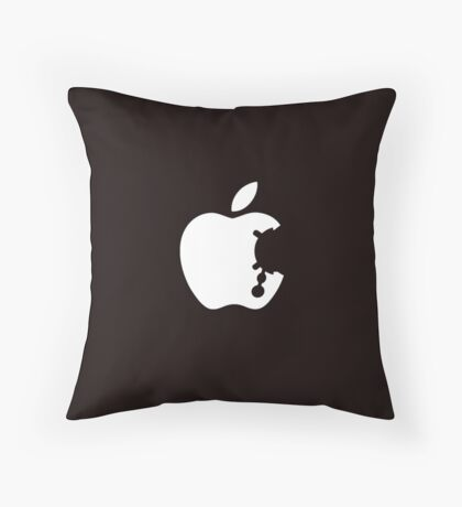 Dalek Apple Throw Pillow