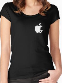 Dalek Apple Women's Fitted Scoop T-Shirt