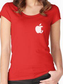 Dalek Apple Women's Fitted Scoop T-Shirt