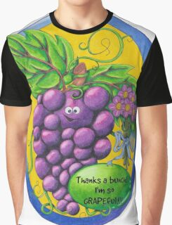 I'm so GRAPEful!  Graphic T-Shirt