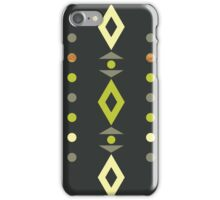 Retro Pop Abstract Pattern iPhone Case/Skin