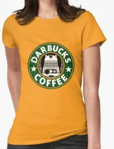 Darbucks Coffee Womens Fitted T-Shirt
