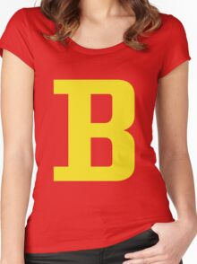 Signature Bort Women's Fitted Scoop T-Shirt