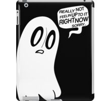Napstablook iPad Case/Skin