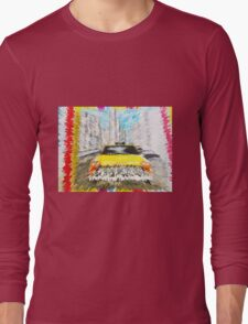new york taxi Long Sleeve T-Shirt