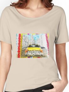 new york taxi Women's Relaxed Fit T-Shirt