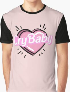 ♡CRYBABY heart♡ Graphic T-Shirt
