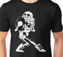 Sans with Papyrus Unisex T-Shirt