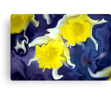 Daffodils - Bright Canvas Print