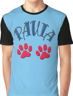 Paula paws - dogs, cats, animal welfare, animal rescuers, animal rights Graphic T-Shirt