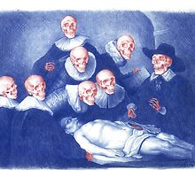 The Anatomy Lesson of Dr. Nicolaes Tulp by Maya Pixelskaya