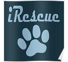iRescue - animal cruelty, vegan, activist, abuse Poster