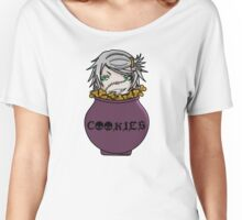 Undertaker eating cookies Women's Relaxed Fit T-Shirt