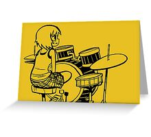 Scott Pilgrim - Kim Pine Greeting Card
