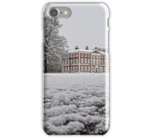 Frosty Morning At Lytham Hall iPhone Case/Skin