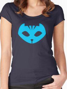 PJ Masks - Catboy Crest Women's Fitted Scoop T-Shirt