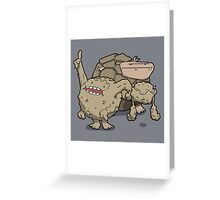 Number 74, 75 and 76 Greeting Card
